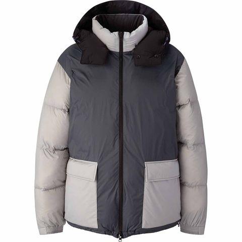 Jacket, Sleeve, Textile, Outerwear, Collar, Personal protective equipment, Fashion, Black, Sweatshirt, Grey,