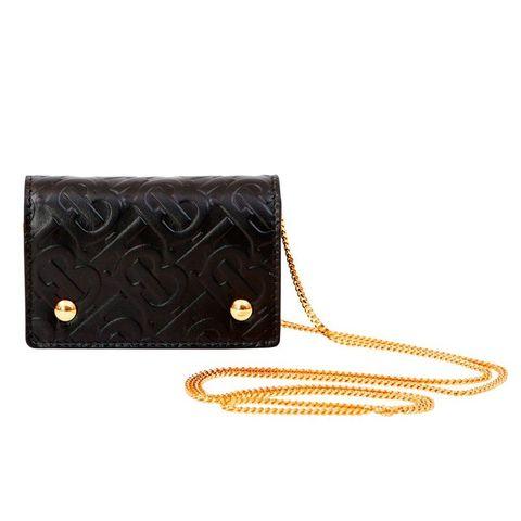 Bag, Handbag, Fashion accessory, Leather, Wallet, Brown, Chain, Beige, Strap, Coin purse,