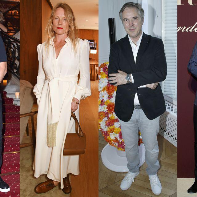 Suit, Event, Fashion, Carpet, Formal wear, Flooring, Pantsuit, Blazer,