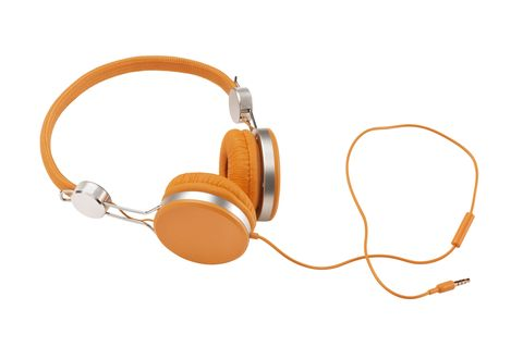 Product, Brown, Audio equipment, Orange, Electronic device, Gadget, Amber, Tan, Technology, Audio accessory,