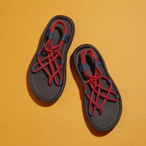 Footwear, Shoe, Sneakers, Walking shoe, Athletic shoe, Carmine, Skate shoe, Plimsoll shoe, Synthetic rubber, Outdoor shoe,