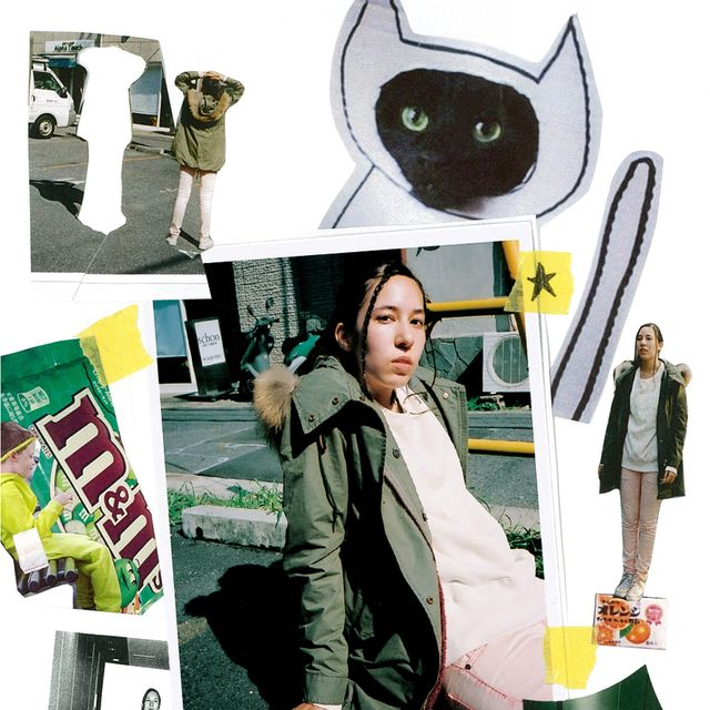 Illustration, Collage, Masque, Overcoat,