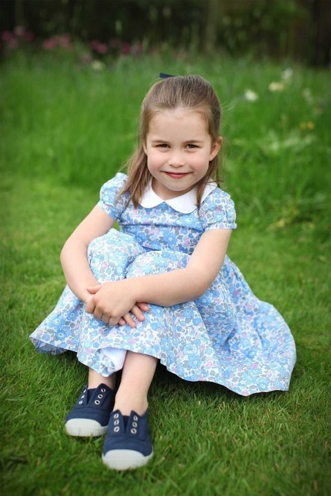 Grass, Child, Happy, Dress, People in nature, Facial expression, Summer, Baby & toddler clothing, Sitting, Toddler,