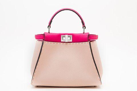 Handbag, Bag, Fashion accessory, Pink, Shoulder bag, Product, Leather, Tote bag, Kelly bag, Magenta,