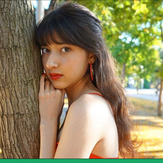 Nature, Lip, Hairstyle, Skin, Green, Photograph, People in nature, Summer, Beauty, Sunlight,