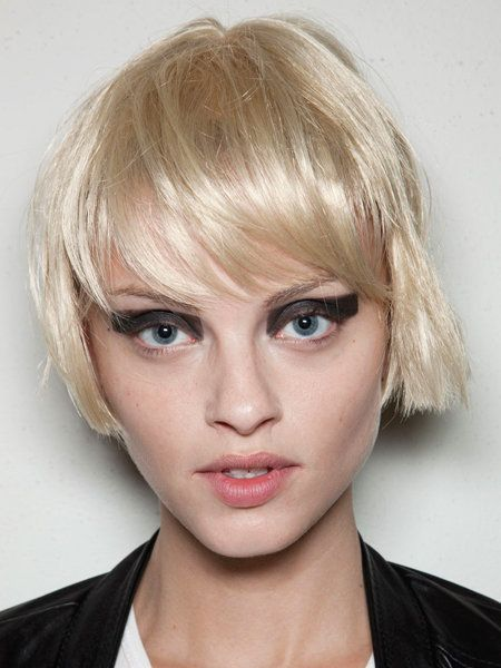 Face, Mouth, Lip, Hairstyle, Eye, Chin, Eyebrow, Bangs, Eyelash, Style,