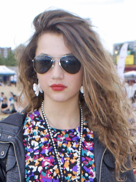Clothing, Eyewear, Glasses, Vision care, Lip, Hairstyle, Sunglasses, Outerwear, Fashion accessory, Street fashion,