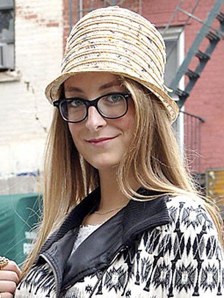 Clothing, Eyewear, Glasses, Vision care, Style, Street fashion, Headgear, Fashion accessory, Long hair, Blond,