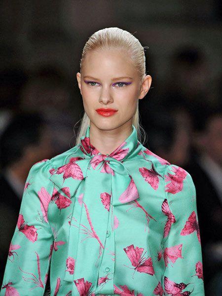 Clothing, Ear, Lip, Hairstyle, Eyelash, Style, Fashion model, Fashion show, Street fashion, Fashion,