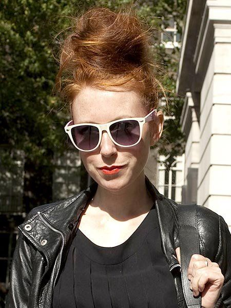 Clothing, Eyewear, Glasses, Vision care, Hairstyle, Sunglasses, Textile, Outerwear, Jacket, Style,
