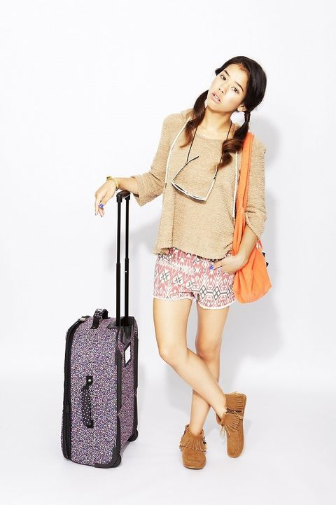 Product, Brown, Sleeve, Shoulder, Bag, Textile, Joint, Outerwear, Human leg, Collar,