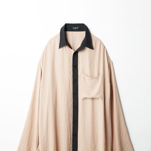 Clothing, Collar, Sleeve, Textile, Outerwear, Clothes hanger, Fashion, Beige, Fashion design, Costume design,