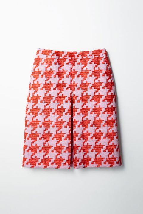 Textile, Red, Pattern, Active shorts, Orange, Trunks, Coquelicot, Pattern, board short, Linens,