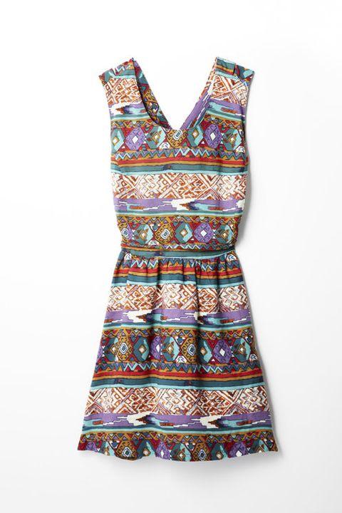 Pattern, One-piece garment, Day dress, Aqua, Motif, Creative arts, Visual arts, Pattern, Artifact,