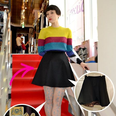 Sleeve, Shoulder, Style, Fashion, Waist, Street fashion, Bag, Tights, Cocktail dress, Fashion model,