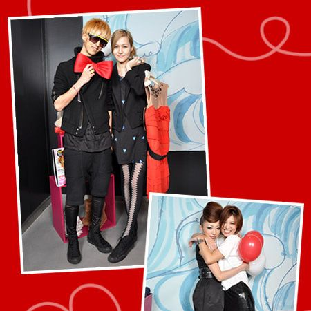 Leg, Interaction, Dress, Balloon, Boot, Love, Blond, Holiday, Collage, Costume,