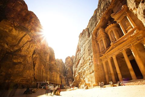 Wadi, Ancient history, Historic site, Formation, Rock, Sky, Geology, History, Ruins, Landscape,