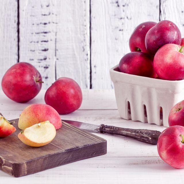 Still life photography, Food, Fruit, Apple, Plant, Nectarines, Superfood, European plum, Natural foods, Peach,