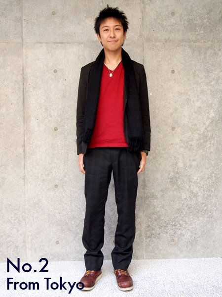 Clothing, Collar, Sleeve, Trousers, Human body, Shoulder, Coat, Textile, Shoe, Standing,