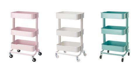 Shelf, Product, Furniture, Shelving, Cart, Kitchen cart, Table, Vehicle,