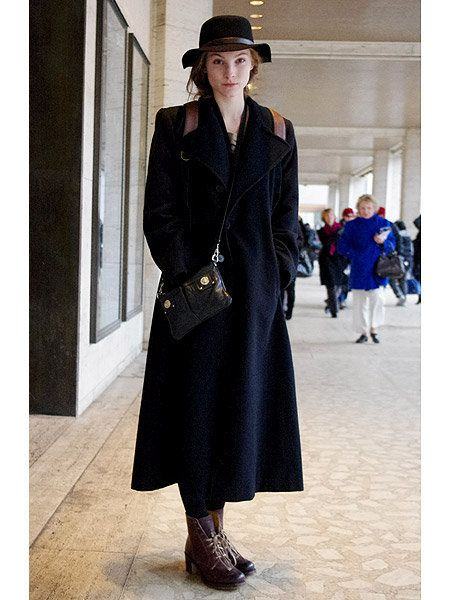 Clothing, Footwear, Sleeve, Hat, Coat, Outerwear, Style, Street fashion, Dress, Overcoat,