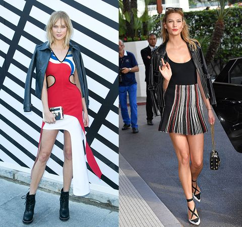 Clothing, Street fashion, Footwear, Fashion, Leg, Fashion model, Blond, Shoe, Dress, Thigh,