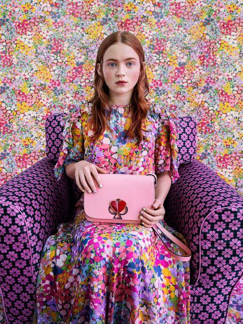 Clothing, Purple, Pink, Dress, Violet, Pattern, Pattern, Fashion, Textile, Magenta,