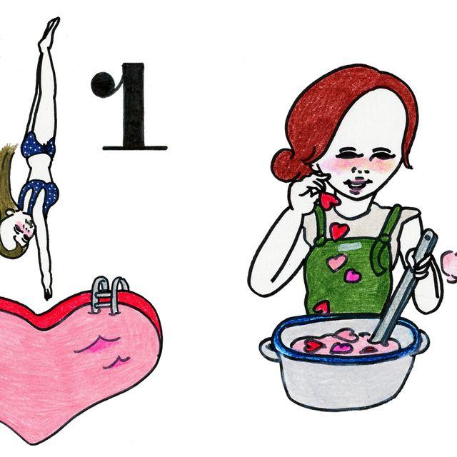 Cartoon, Clip art, Heart, Illustration, Graphics,