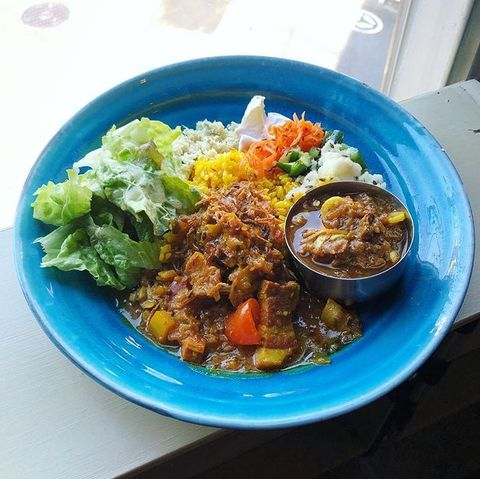 Dish, Food, Cuisine, Ingredient, Steamed rice, Lunch, Produce, Rice, Recipe, Staple food,