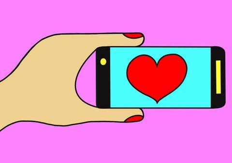 Pink, Purple, Magenta, Violet, Colorfulness, Heart, Clip art, Graphics, Rectangle, Love,