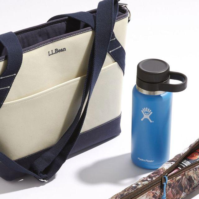 Product, Bag, Plastic bottle, Azure, Bottle, Beige, Plastic, Shoulder bag, Bottle cap, Strap,