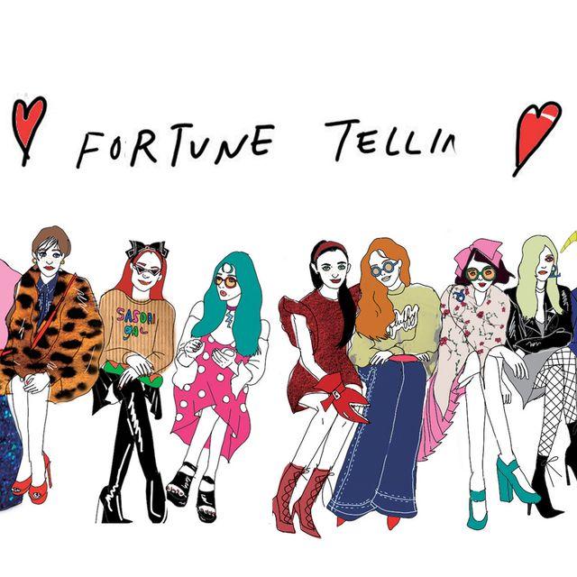 People, Social group, Red, Line, Interaction, Carmine, Magenta, Costume design, Illustration, Artwork,