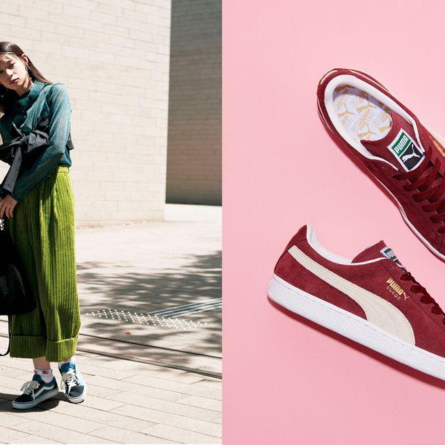 Footwear, Green, Shoe, Street fashion, Fashion, Plimsoll shoe, Pink, Sneakers, Athletic shoe, Style,