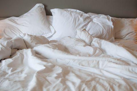 Textile, Bedding, White, Bed sheet, Bedroom, Room, Linens, Duvet, Bed, Duvet cover,