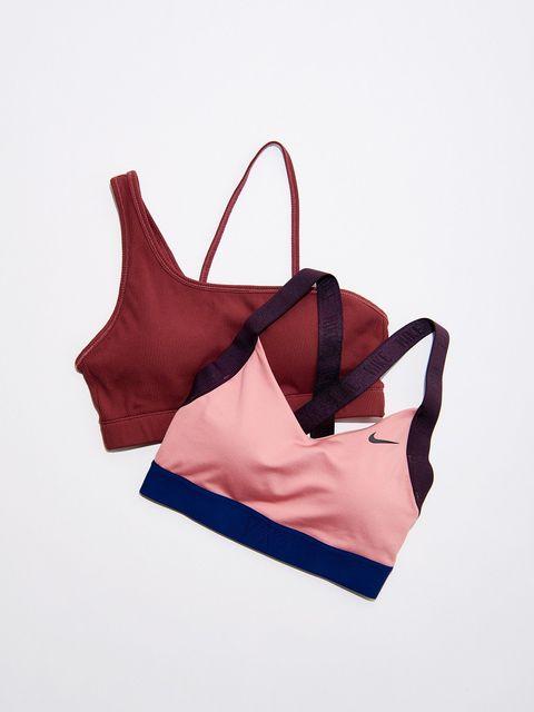 Brassiere, Swimsuit top, Undergarment, Lingerie, Bag, Handbag, Fashion accessory, Shoulder bag, Lingerie top, Beige,