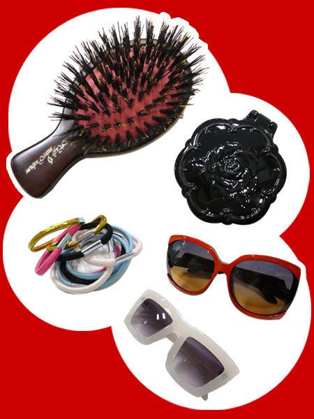 Eyewear, Vision care, Goggles, Red, Sunglasses, Costume accessory, Eye glass accessory, Earrings, Coquelicot, Silver,