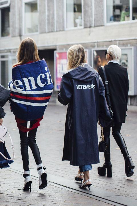 Photograph, Blue, People, Street fashion, Fashion, Snapshot, Standing, Footwear, Outerwear, Street,