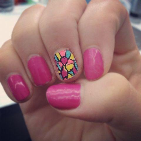 Blue, Finger, Skin, Colorfulness, Nail, Pink, Nail care, Magenta, Purple, Nail polish,