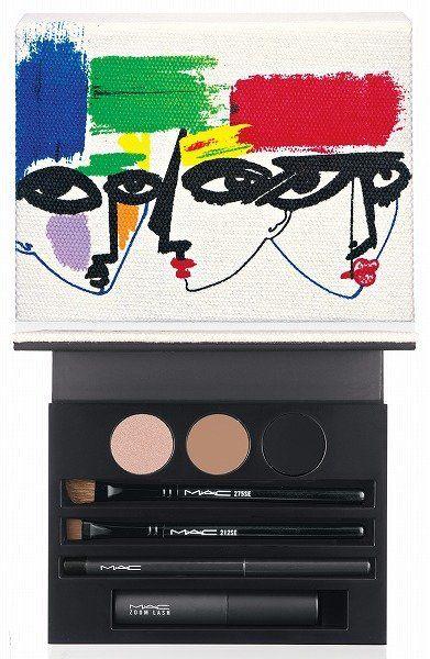 Eyelash, Rectangle, Cosmetics, Eye shadow, Eye liner, Graphic design, Painting, Graphics, Symbol,