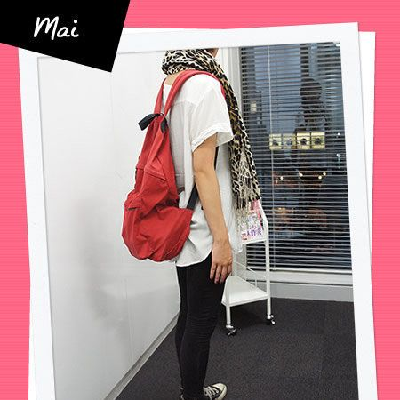 Outerwear, Red, Bag, Carmine, Street fashion, Luggage and bags, Rectangle, Poster, Advertising, Shoulder bag,