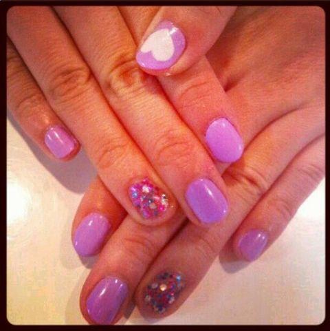 Blue, Finger, Skin, Purple, Nail care, Nail polish, Nail, Violet, Magenta, Manicure,