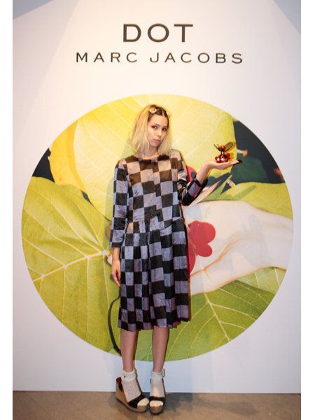 Dress, One-piece garment, Pattern, Day dress, Sandal, Vintage clothing, Design, Foot, Fashion design, Publication,