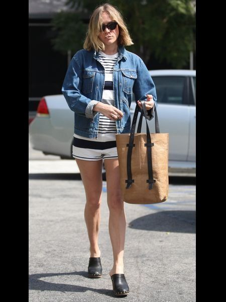 Clothing, Eyewear, Brown, Bag, Textile, Human leg, Outerwear, Sunglasses, Fashion accessory, Style,