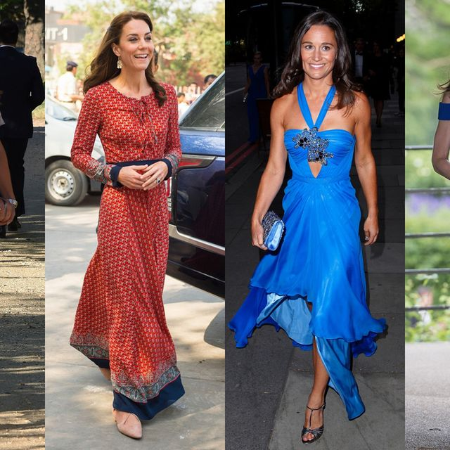 Clothing, Dress, Trousers, Shoulder, Formal wear, Style, Waist, One-piece garment, Fashion accessory, Electric blue,
