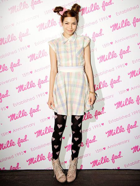 Pattern, Pink, Style, Magenta, Fashion, Fashion model, Waist, Day dress, Street fashion, One-piece garment,
