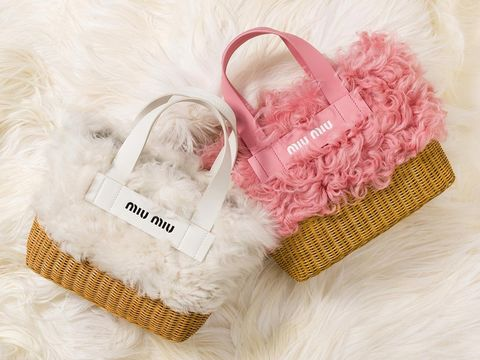 Pink, Fur, Product, Outerwear, Hand, Font, Textile, Finger, Fashion accessory, Present,