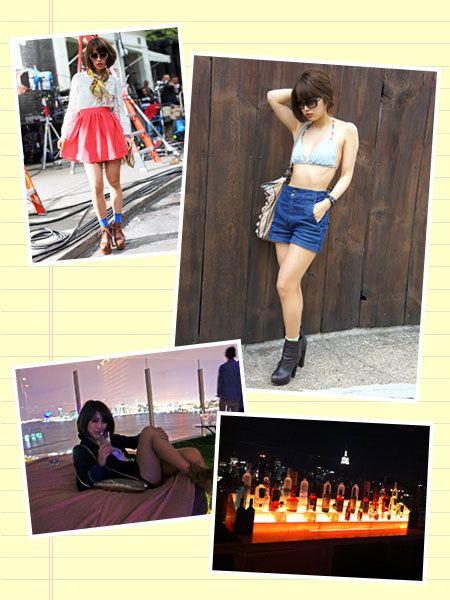 Arm, Human leg, Collage, Shorts, Street fashion, Fashion, Waist, Thigh, Knee, Calf,