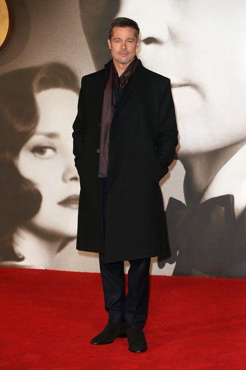 Trousers, Coat, Collar, Outerwear, Formal wear, Style, Suit, Carpet, Flooring, Blazer,