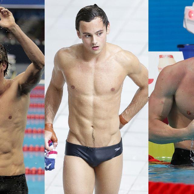 Barechested, Swimmer, Swim brief, Briefs, Muscle, Chest, Underpants, Swimwear, board short, Swim brief,