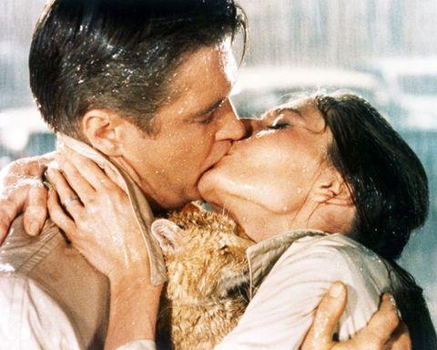 Ear, Nose, Lip, Cheek, Forehead, Kiss, Romance, Love, Interaction, Sharing,